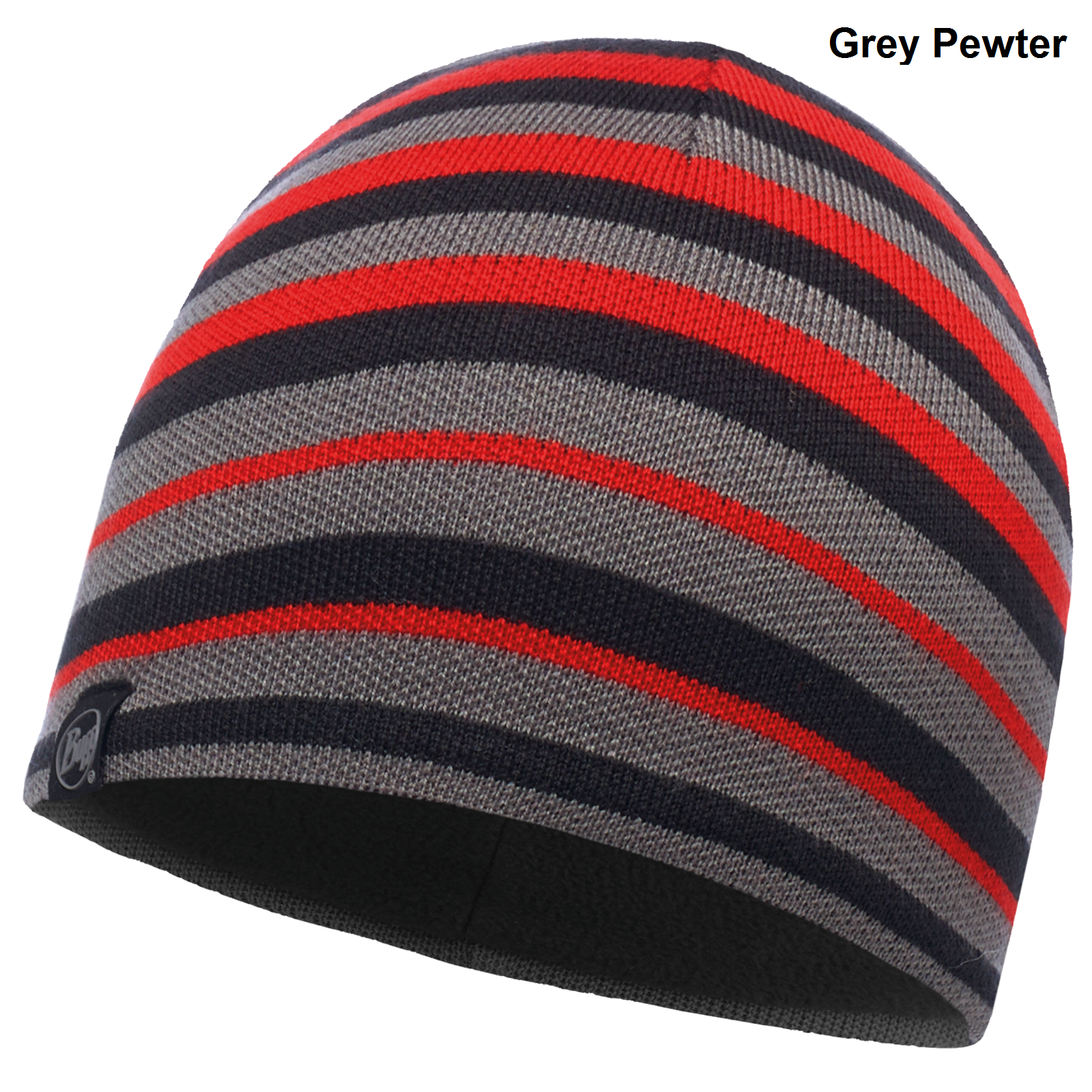 7c60872a4 Buff Unisex Laki Stripes Knitted Hat - Fleece Band - One Size